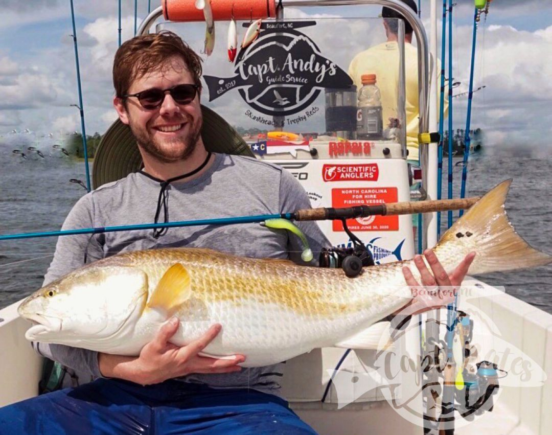 B Maynard with his second trophy drum of the day! The TFO MedHvy Inshore rods and Florida Fishing Products Osprey 5000 getting the job done on these sea monster day in and day out!