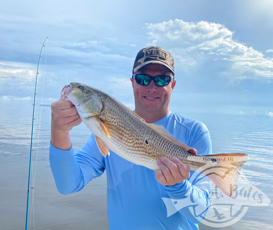 I don't even know where to start with today's report...rain band looked like it was going to push north and get out of the way early, it hit the river and grew. We stopped and threw some topwater at trout waiting for it to pass, missed a handful of trout blow ups. Decided to go big redfish corking and found some in the heavy rain.   Changed gear for a little bit when it slicked out and everyone caught slot redfish on topwater. Mr lee missed a blowup and his buddy asked if he wanted him to show him, the fish, Lee told him ya, well he did! He threw over to the same spot hooked the fish and it had a $100 tag in it!