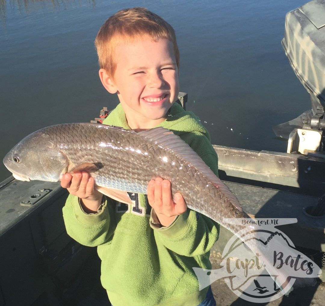 Amazing winter day on a huge school of redfish in the marsh!