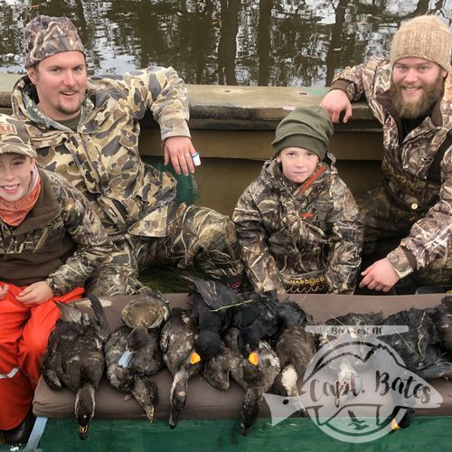 Great hunt with great friends and the boys!