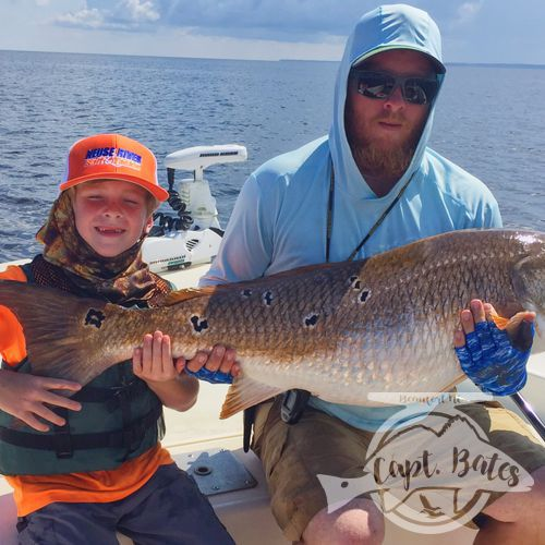 Troys first ever citation trophy red drum, on the Neuse river North Carolina