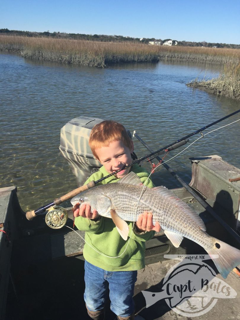 Upper Slot redfish from a great winter day!