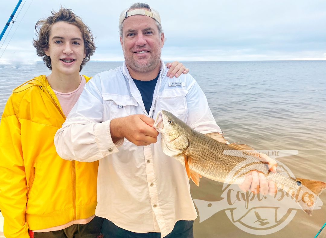 Another well rounded father/son trip. It was cool see Griffins confidence and skill level in the techniques we fish improve through out the morning. From slot fish to adult trophy redfish on his own! Another PB caught out of state shattered today(Florida this time)!