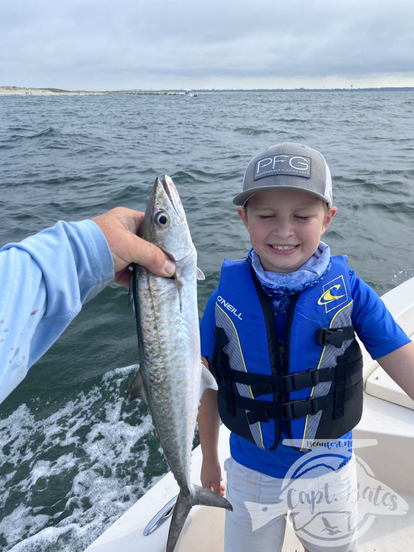 Got to take Bentley out for his 9th birthday, couldn't get the big mackerels to cooperate, but ended up with his first cobia, and his mackerels ever! Great times with great repeats!