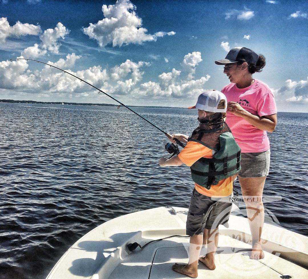 Bluefish are blast for the whole family!