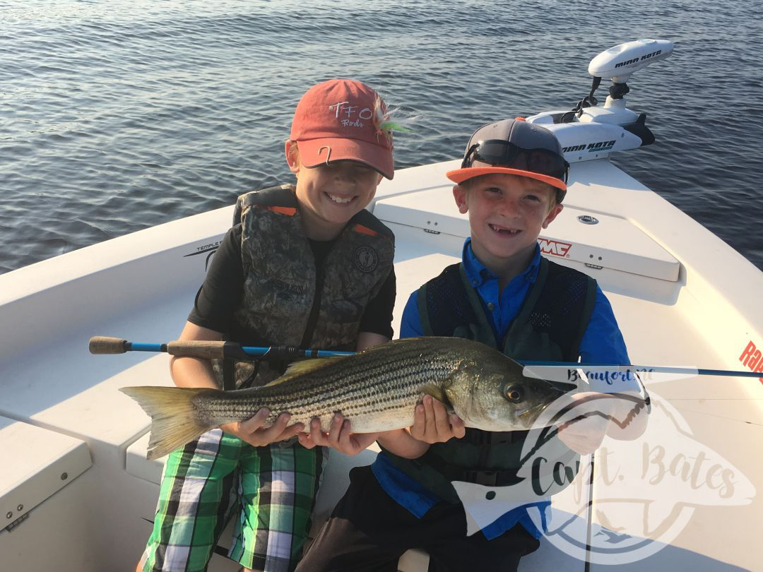 Brotherly love and topwater rockfish!!