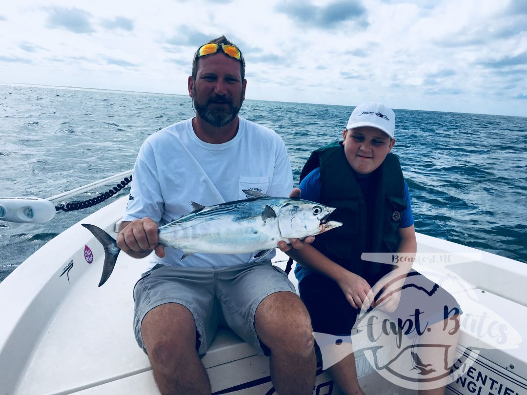False Albacore trips are a great way to spend time together as family!