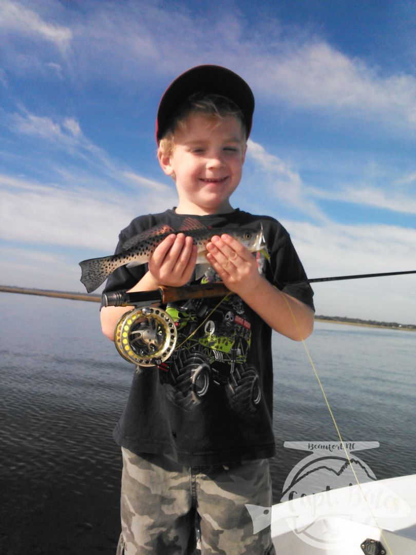 Schoolie trout are perfect for getting kids hooked on fishing, on fly or spinning gear!