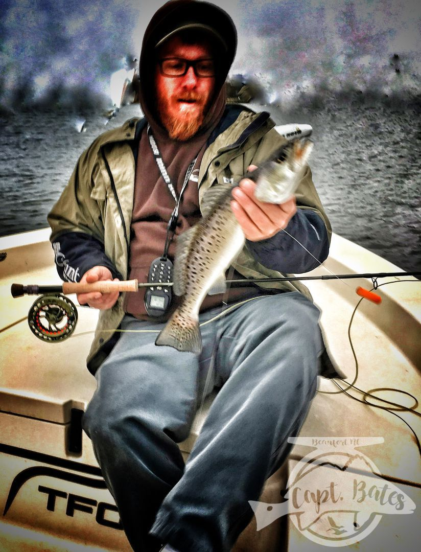 Capt Garys Pop-n-Fly is my favorite way to target specks on the fly rod!