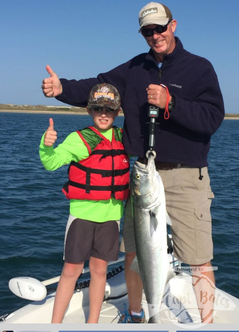These boys caught their first chopper bluefish and many more that day!!