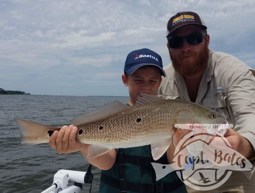 Nice slot drum on the Neuse river!